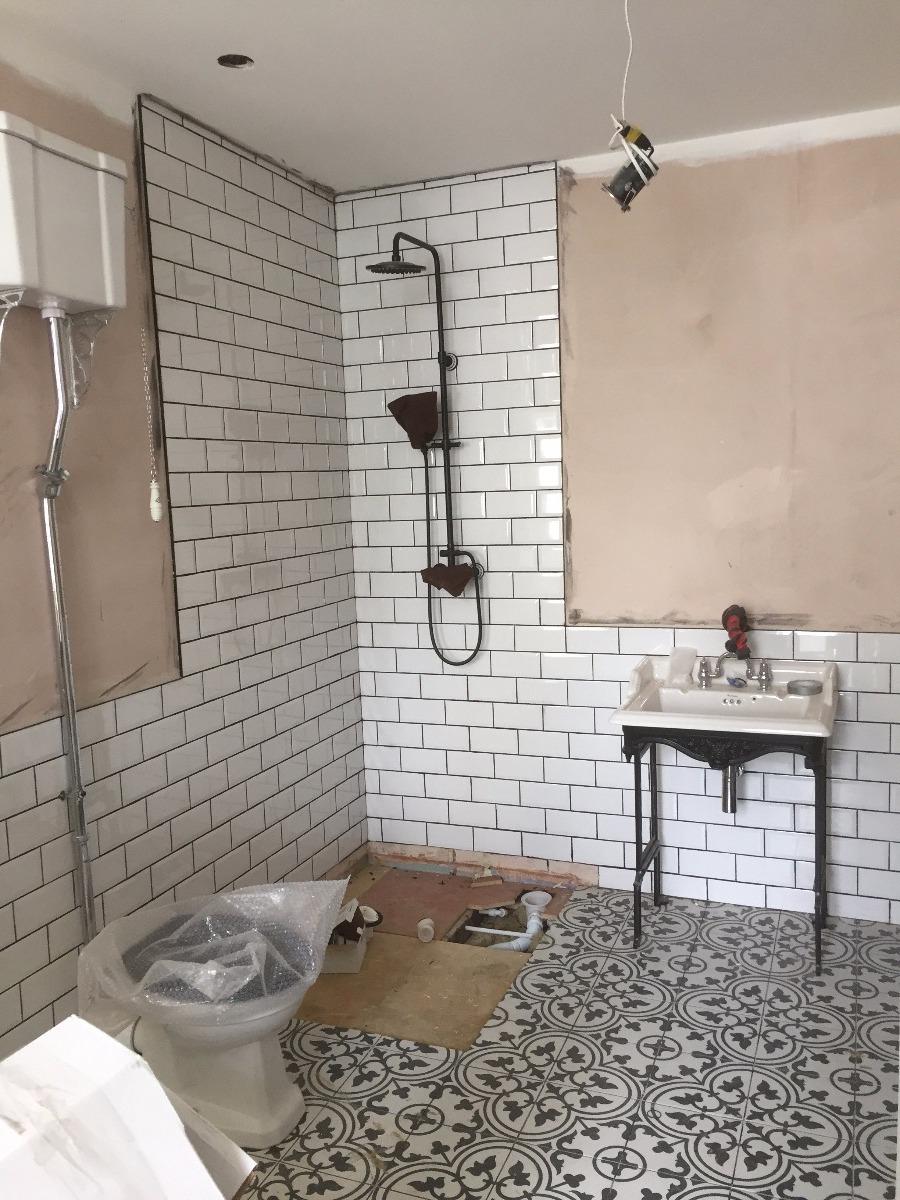 Conventional bathroom